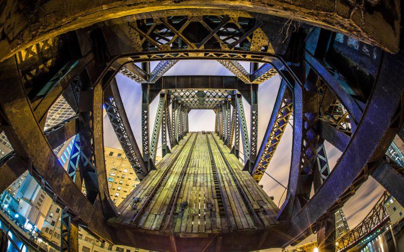 Kinzie Street Railroad Bridge