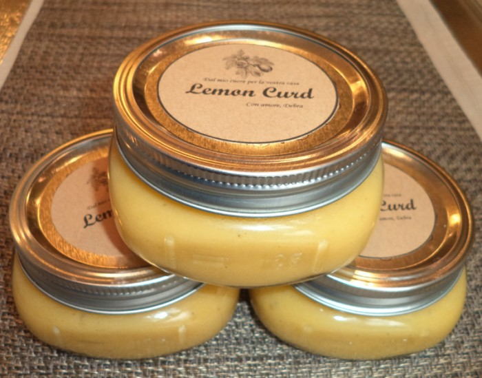 Lemon curd home made