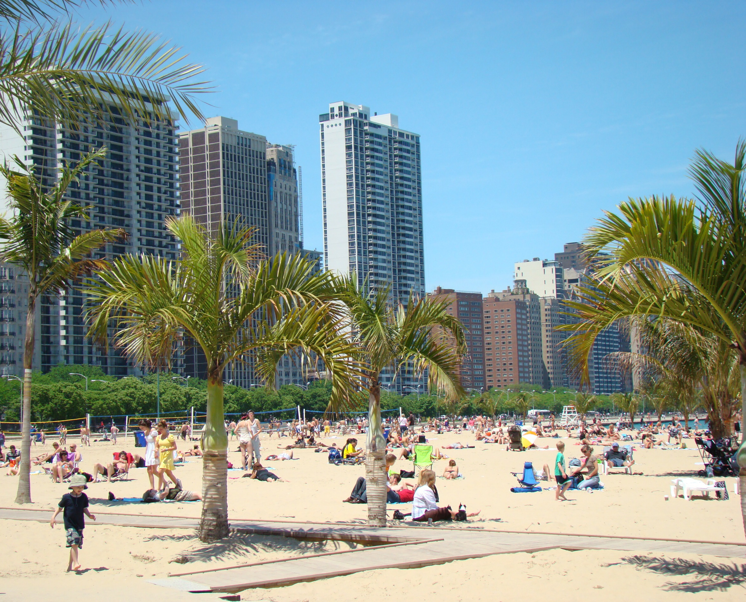 Oak St Beach Chicago The Best Beaches In World