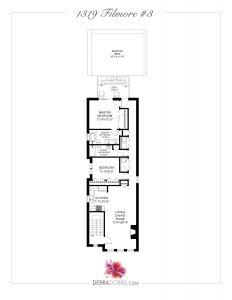 Floor Plan Branded - 1319 Filmore #3
